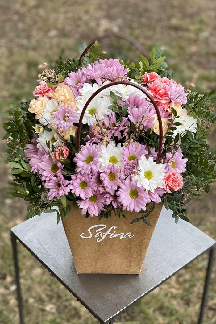 Цветочная коробка №38