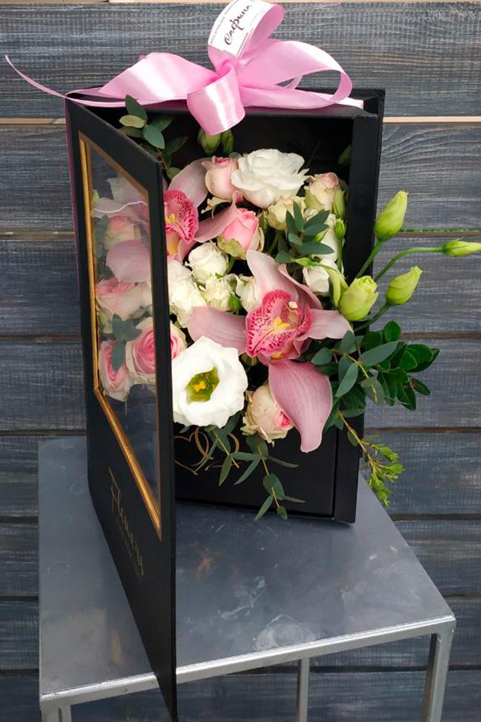Цветочная коробка№27