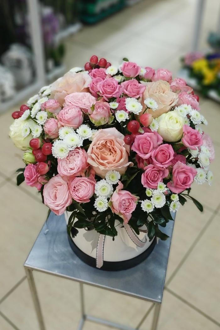 Цветочная коробка №46