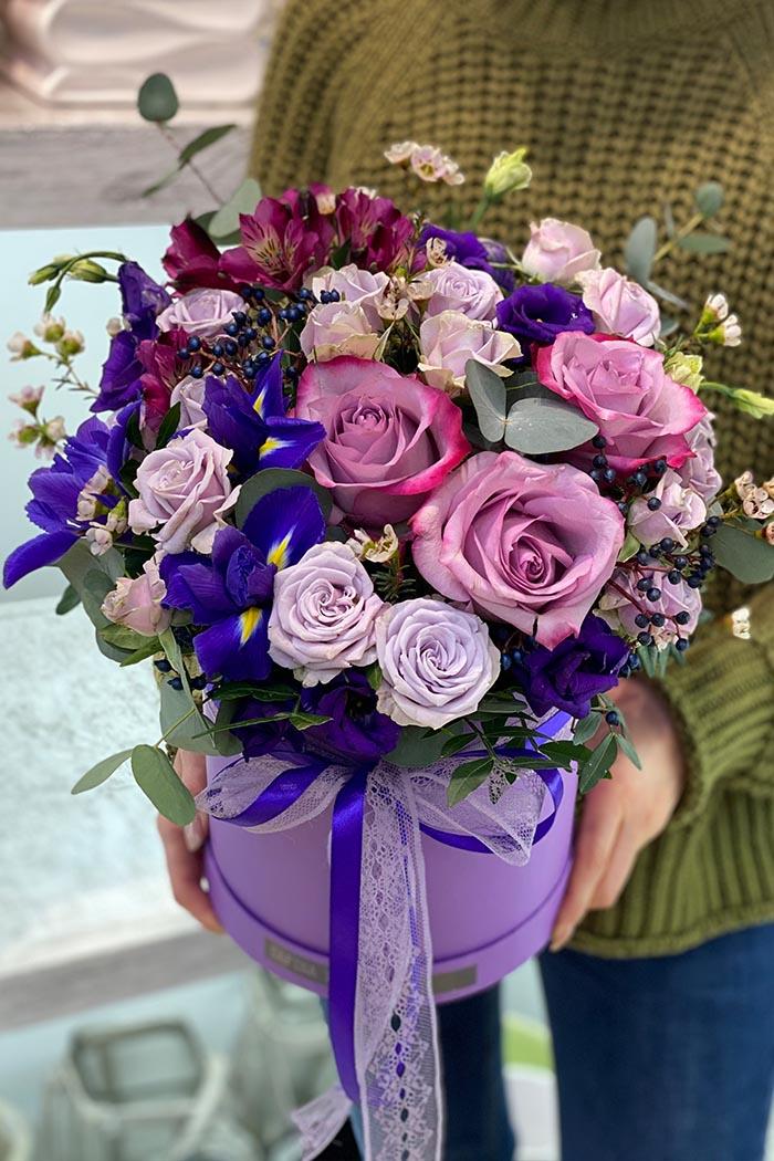 Цветочная коробка №55