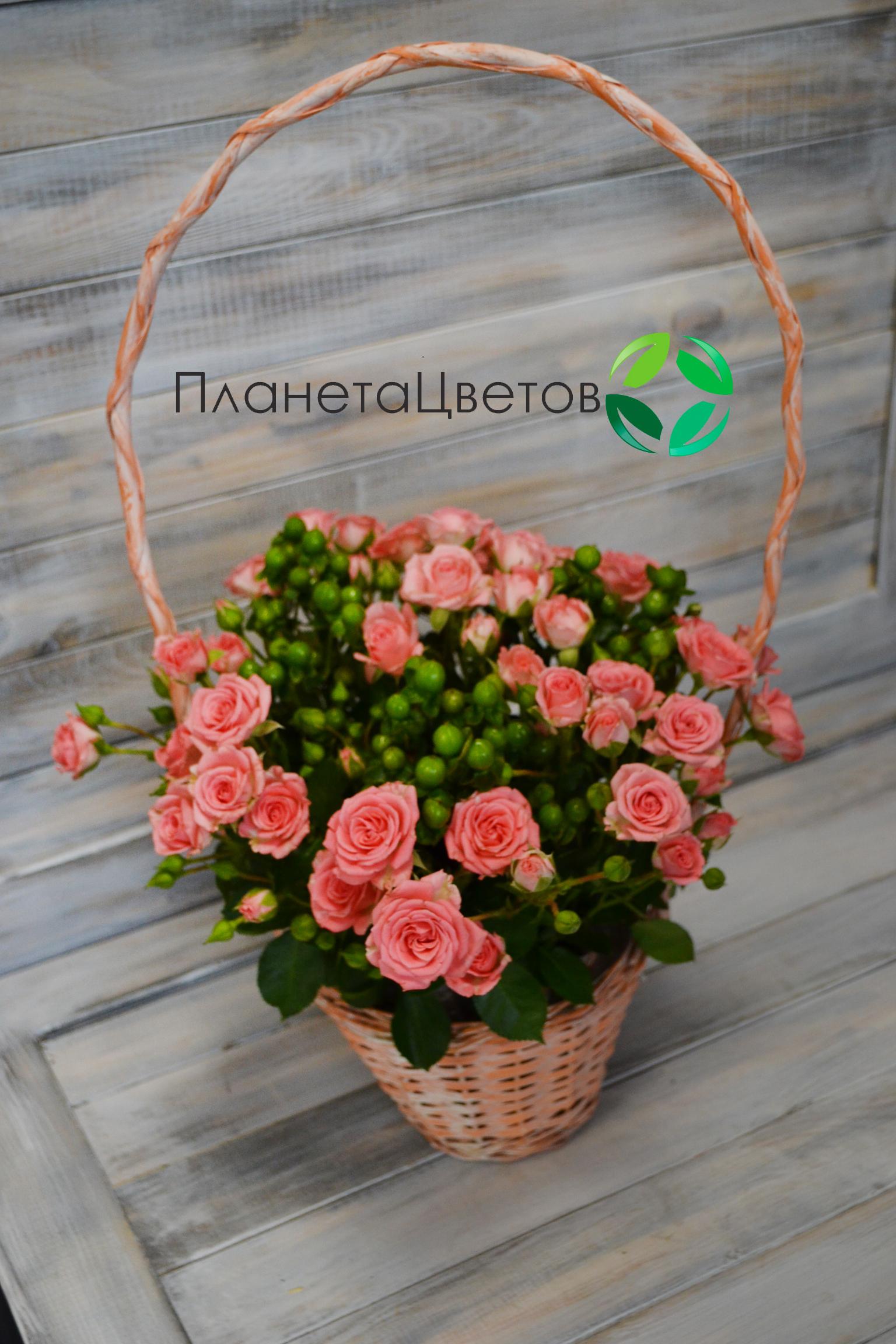 Цветочная корзина №09