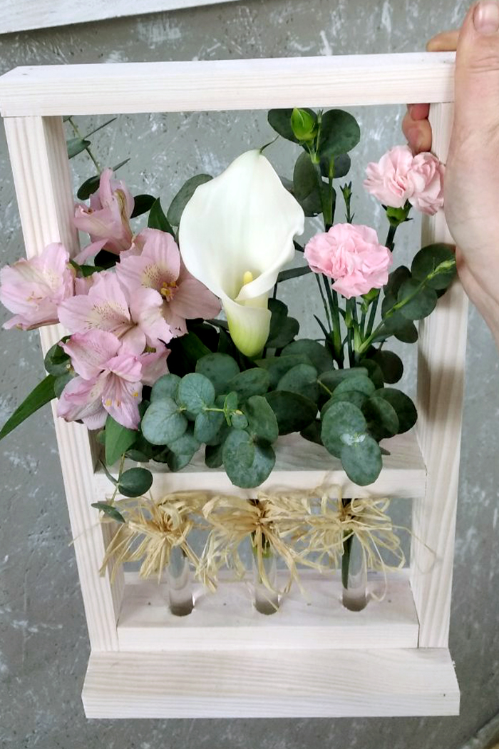 Цветочная коробка №30