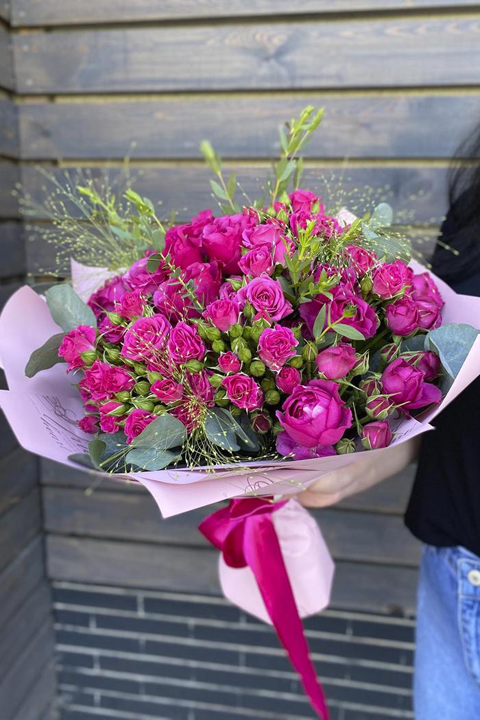 Букет из роз №18
