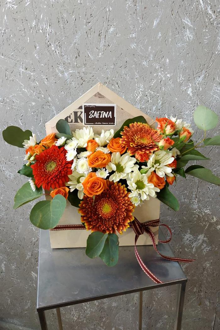 Цветочная коробка №28