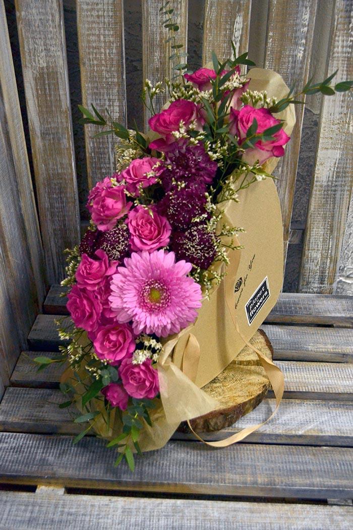 Цветочная коробка №17
