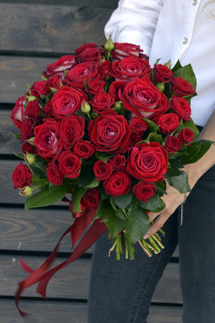 Букет из роз №10